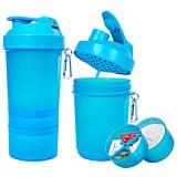 Muscle Shake - Shaker Neon 400 ml + 120 ml + 180 ml