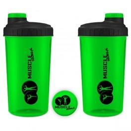 MuscleStore - Shaker Neon Zielony 0,7l