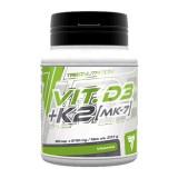 TREC - Vitamin D3 + K2 - 60caps.