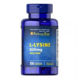 Puritan's Pride - L-Lysine 500 mg -100 caps