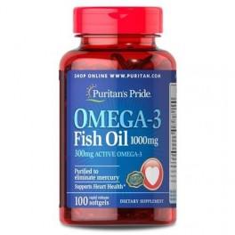 Puritan's Pride - Omega-3 Fish Oil 1000mg 100softgels