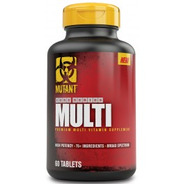 PVL - Mutant Core Multi Vitamin, 60 tab