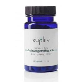Supliv - Ashwagandha (ekstrakt 7%) - 40 caps