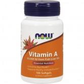 Now - Vitamin A 10000 - 100 caps