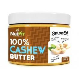 Masło z orzechów nerkowca 100% 500g Nutvit