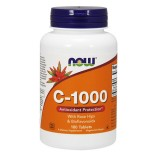 Now - Vitamin C1000 with Rose Hips&Bioflavon - 100tabs