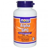 NOW - Alpha GPC 300 mg 60 vcaps